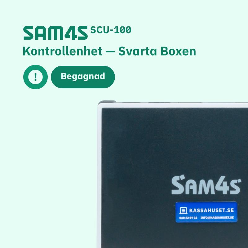 SAM4S SCU-100 Begagnad kontrollenhet